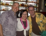 T.J. LANGLEY WITH KIM ANH & SEAN CANNON