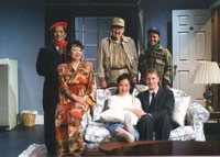 "THE CAST PHOTO OF REACT'S  ""BAREFOOT IN THE PARK"""