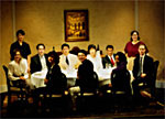 """THE DINING ROOM"" CAST PHOTO"
