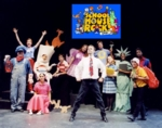 "THE CAST PHOTO OF REACT'S ""SCHOOLHOUSE ROCK LIVE!"" ENCORE"