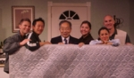 "THE CAST PHOTO OF ""UNCLE HIDEKI & THE EMPTY NEST."""