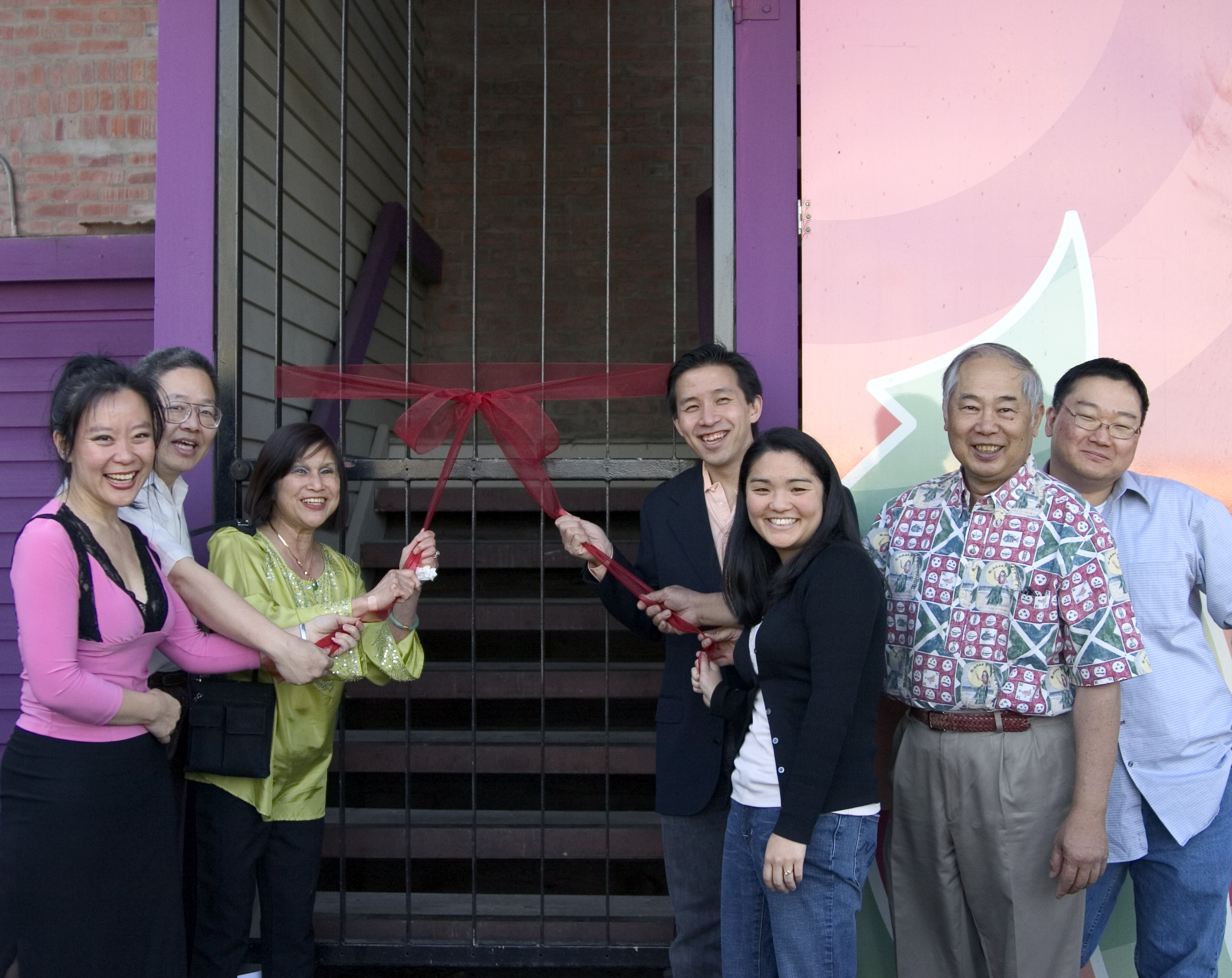 PRIMA VERA ARTS CENTER OPENS WITH A RIBBON CEREMONY""